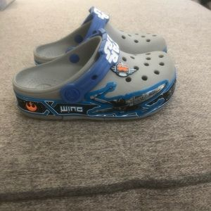 Boys Star Wars crocs